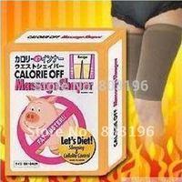 10PCS/Lot New Arrival Free Shipping Carorie Off Massage Shaper Slim Belt Slim Legs Body Shaper Slimming & Cellulite Control