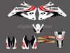 New Style TEAM  GRAPHICS&BACKGROUNDS DECALS STICKERS Kits for YAMAHA YZ250F YZ450F 2006-2009