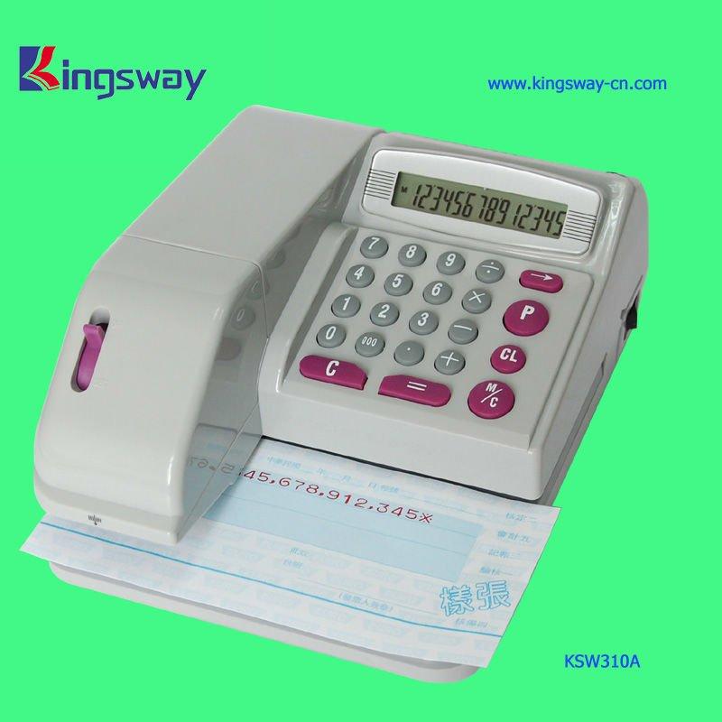 Cheque Writing Machine KSW310 For Office Used(China (Mainland))