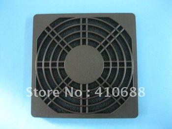 Black Dustproof Dust Filter Used for DC Fan 90mm x 90mm 5 pcs per lot Hot Sale
