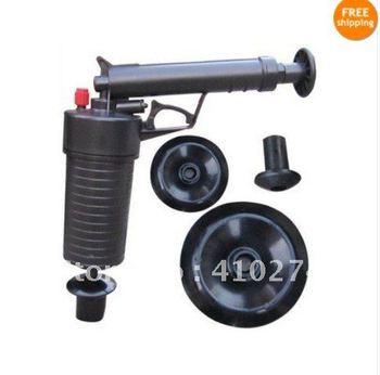 AIR PUMP GUN AIR PUMP DRAIN BUSTER BATH SINK TOILET  /free shipping