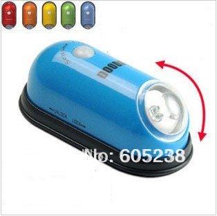 New Arrive Freeing Shipping 10pcs/lot Mini Human Body sensor Lamp 5 Color Mini Night Light(China (Mainland))