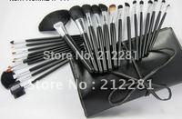 2012 Factory Direct! Makeup 24 pcs Professional Makeup Brush set Kit (5 set/lot)+FREE GIFT