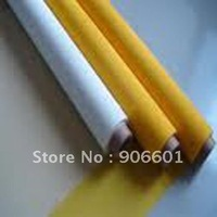 "43T 110mesh polyester screen printing mesh 43T-80  width:127cm (50""), white color and free shipping"