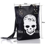 Wholesale Leisure Casual hobo Skull Heads shoulder bag sling  Handbag  Designer Lady girl's popular Fashion