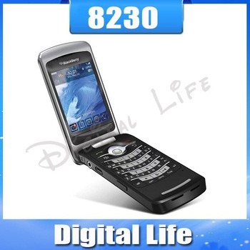 8230 Original Unlocked BlackBerry Pearl Flip 8230 Cell Phone CDMA NO SIM Card Slot free shipping