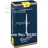 Vandoren Traditional Bb Clarinet Reeds Strength 3 #Box of 10