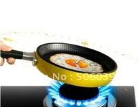 free shipping hot sale fried egg pan sharp 6color wall clocks
