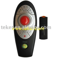 Anyctrl 2.4G Wireless Presenter with Trackbal Mouse LP03 with 2G flash disk
