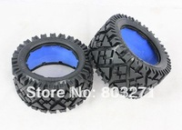 baja 5b/ssRear tyers without inner foams ,2 PCS interchangeable with HPI tyres-FREE SHIPPING