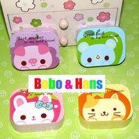 New cute Cartoon animal style contact lenses box & case / Fashion / Wholesale