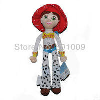 "Free Shipping EMS 30/Lot NEW World Store Toy Story Cowgirl JESSIE Plush Stuffed 14"" Toy Doll Wholesale"