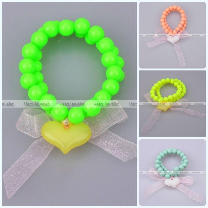 Bow Tie Bracelet Strand Bracelet Ribbon Bow