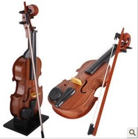 2012 new cheap wooden violin early childhood educational toys hobbies to develop children's musical instruments + free shipping