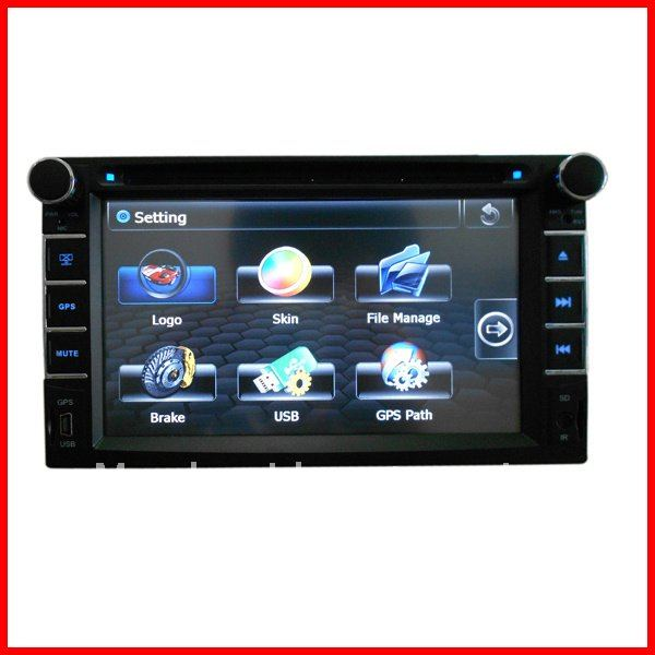 Digital screen/Bluetooth/RDS/GPS(Dual zone)/Steering wheel control Hyundai Tuscani 2001-2011 Hyundai GPS(China (Mainland))