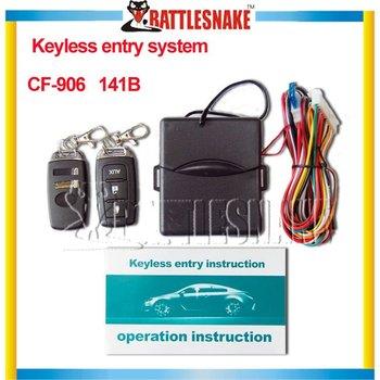 Car window closer Car alarm system w/Car Remote Central Lock Locking  CF906-137 Keyless Entry System with Remote Controllers