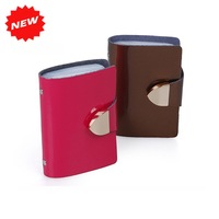 Free shipping+Korea fashion Patent Leather bank credit name card holder,promotion gifts,NC001