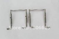 2PCS Chrome 3/4 4/4 Violin Chinrest Chin Rest Screw violin parts