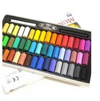 2012 Hot Temporary Hair Chalk Color Dye Pastel Chalk Bug Rub Soft Pastels Magic crayons Magic chalk. 48 colors/Box