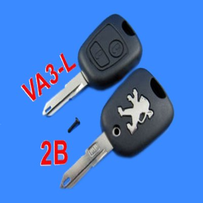Good quality  + Peugeot Remote Key Shell 2 Button ( 206 )