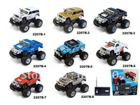 2012 1:58  RACING SERIES TOYS, 4x2 Cross-country streamlined rc driving vehicle, 8 different model for your choice,free shipping