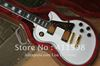Deluxe custom shop signature Alpine white electric guitar ebony fingerboard with case