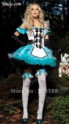 Alice in wonderland bitter fleabane bitter fleabane dream princess skirt Snow White take maid outfit maid outfit uniforms(China (Mainland))