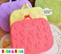 New cute love bag style contact lenses box & case / Fashion / Wholesale