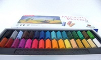 32 pcs/set (MPS-10 Sets ) color pastel dye of Hair chalk powder brush painting stick specification and fine material