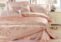 120405  free shipping 100% Tencel  4pcs bedding set / silk home textile