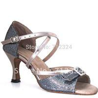 $15 off per $150 order Free Shipping 2012 NEW DESIGN girls ballroom latin dance shoes WL117