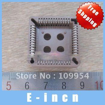 5PCS PLCC Socket,52 Pin , free shipping