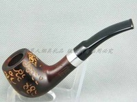 Send Qi Jiantao natural the Jujube pipe D-9014 silver ring carved gifts to share