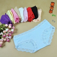 Nk09 modal panties female low-waist panty comfortable soft and breathable