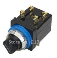 2 or 3 position selector switch ,black rotaty switch LA18-22X2