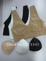 3pcs of 1lot Genie Bra BODY SHAPER Push Up BREAST RHONDA SHEAR ( Include chest pad ) ahh bra 3pcs