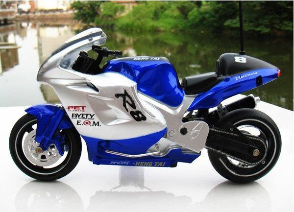 Free Shipping Newest! 26cm 1:8 Scale Radio remote control electric RC Motorcycle High Speed RC Motorbike stunt toy Motor cycle(China (Mainland))