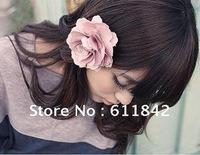 free shipping fashion Korea hair accessories headwear flowers barrerres bow styling hair clip