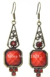 Free shipping,vingtage jewelry,drop mearring,rhinestone earring,DNJE115(China (Mainland))