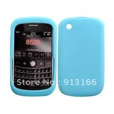 1 x Silicone Skin Case for Blackberry Curve 8520(China (Mainland))