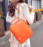 4 colors free shipping charge New design Commuter PU Shoulder bag handbag girls ladies women fashion backpack