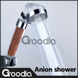 High Quality! Boost water-saving shower head,Quartz watch material.Free shipping!(China (Mainland))