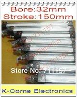 "32mm Bore 150mm Stroke G1/8"" Port Size SC32*150 Standard Single Rod Pneumatic Air Cylinder SC32X150"