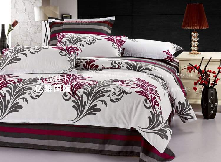 Hot sale bedding 128*68 40s twill, thickening Print duvet cover ...