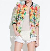 print flying suit hoodie jacket  coat  top hoodie