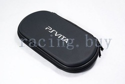 Retail New Screen Protector+Hard Case Bag Pouch For Sony Playstation PS Vita PSV PSVITA GC001-1 Min. Order 1 piece 1pcs/lot(China (Mainland))