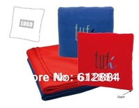 180gsm polar fleece Dual-use Cushion, Can be used as cushion when folded and blanket when expanded