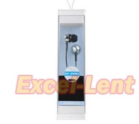Freeshipping 3.5mm Stereo Earphone for iPhone Headset Headphone with Mic for iP102 iPhone