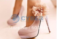 Wholesale - NEW Luxury Sexy Romantic Flower Women's Platform Pumps Stilettos Wedding High Heels Shoes