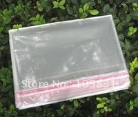Free Shipping large size 24x36cm Plastic Bags Clear with Self Adhesive Seal for food & gift packaging